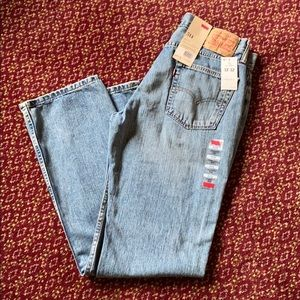 Levi's 514 straight fit NWT